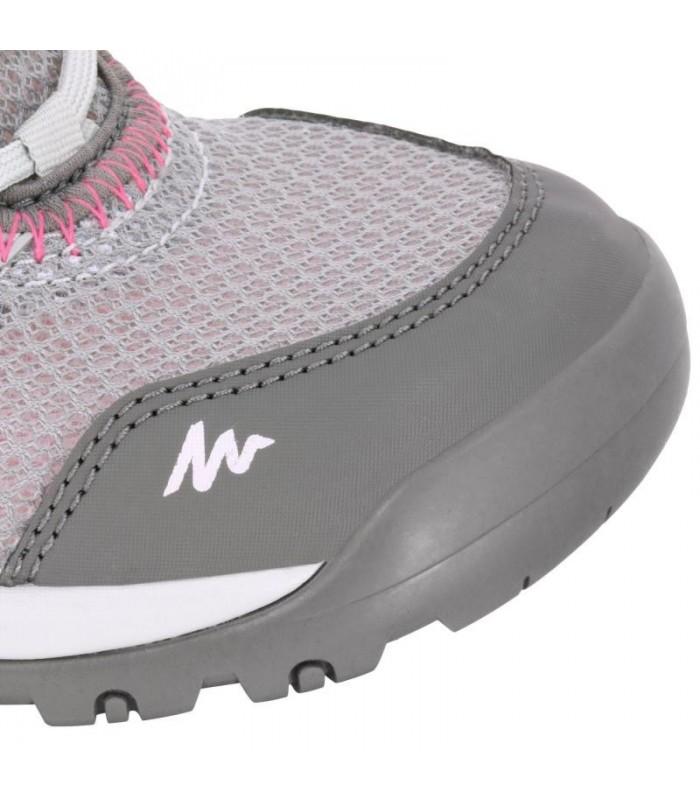 کفش تریل زنانه - خاکستری - NH100 QUECHUA