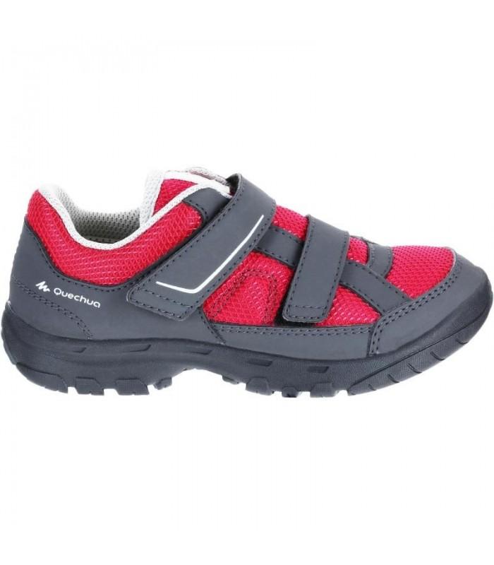 کفش پیاده روی MH100 - کودک - صورتی QUECHUA